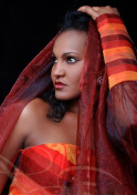 hot Ethiopian artist