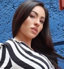 hot Mexican brunette