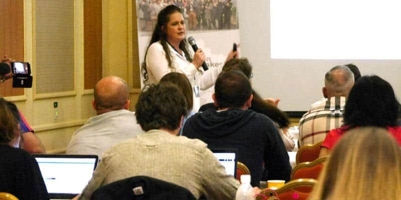 Dr. Julia Mezaros Speaking at Dating conference