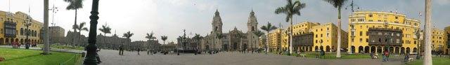 Lima City square
