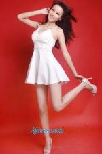 long-legged Chinese babe
