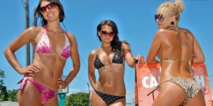 Moscow car wash girls