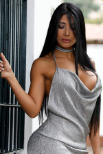 passionate and sporty Colombiana