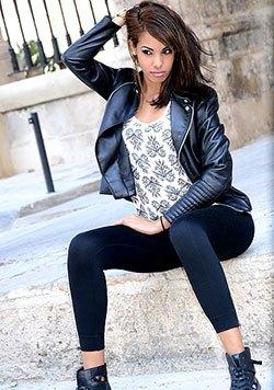 passionately romantic Latin girl from Cuba
