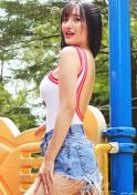 plain seductive Viet girl