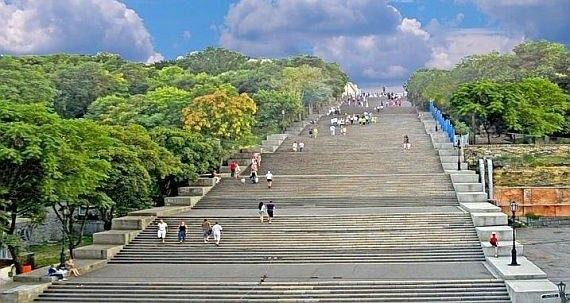 Potemkin steps, Odessa Ukraine