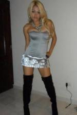 precious blonde Dominican mom