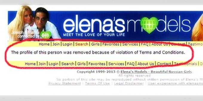 Delete dating advertisements