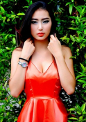 sensual Thailand lady in red