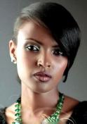 serious Ethiopian girl