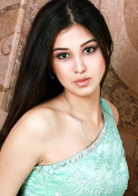 simple and beautiful Kazakh woman for marriage