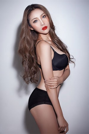 skinny but sexy Chinese woman
