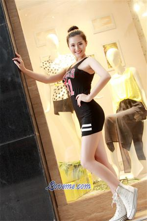 sporty Chinese babe seeking marriage