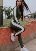 sporty Peruvian dancer
