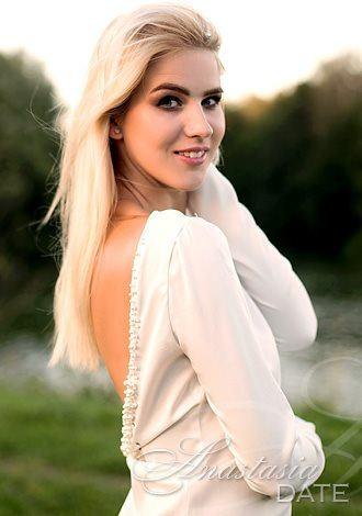 strikingly gorgeous Belarus girl