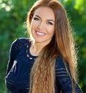 sweet Armenian girl with a long hair