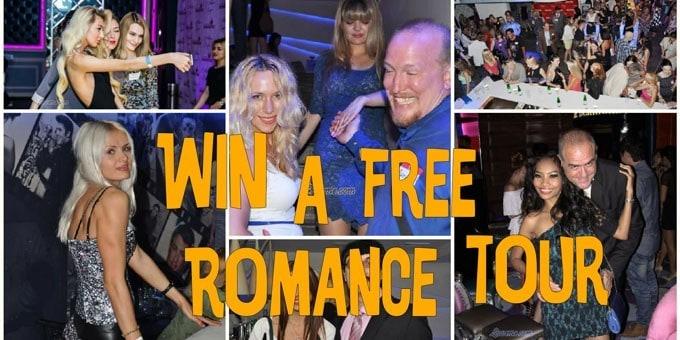 Win a FREE Romance Tour