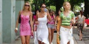 women of Odessa, Ukraine