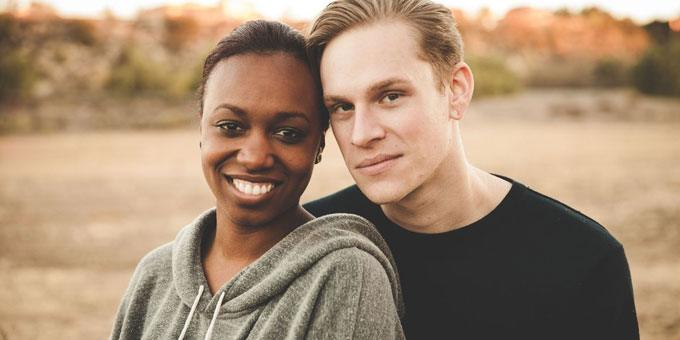 American guy and African girl