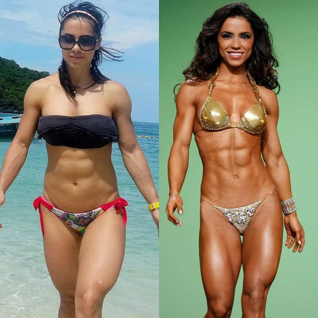 Andreia Brazier body transformation
