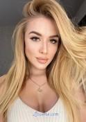 attractive Ukrainian blonde