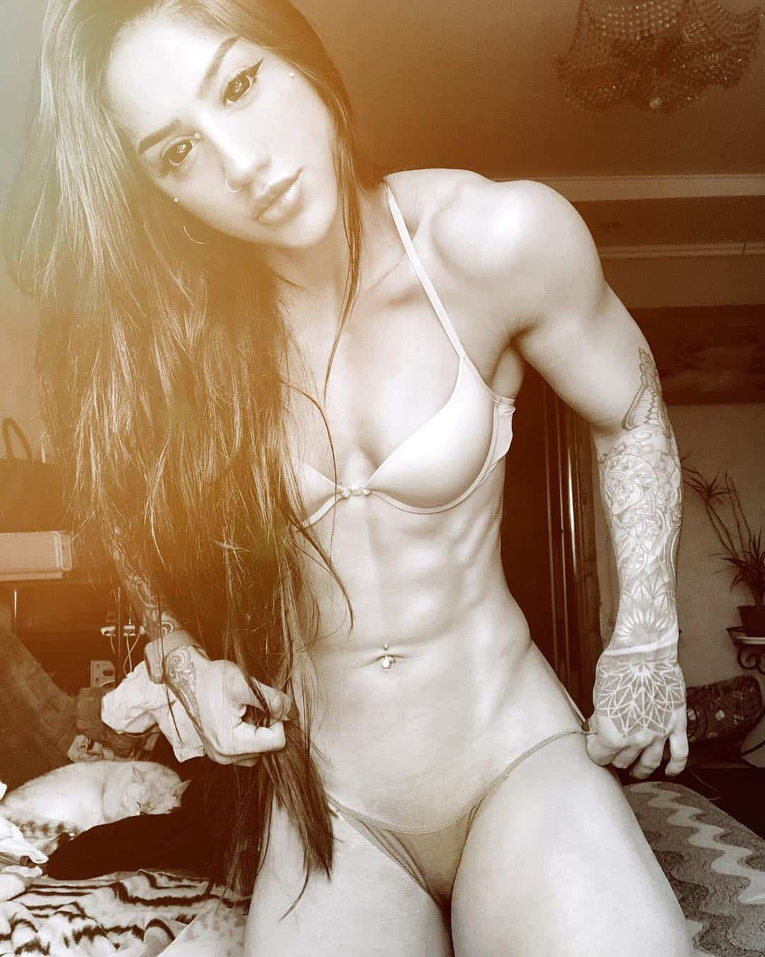 Bakhar Nabieva great body