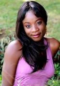beautiful Kenyan woman