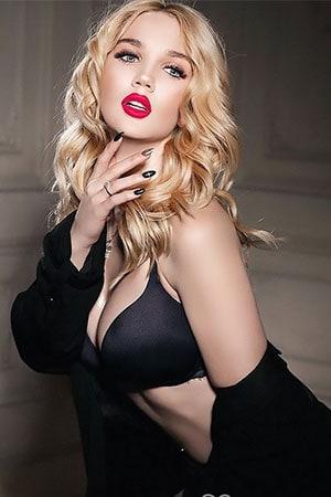 blonde Ukraine babe from Kiev