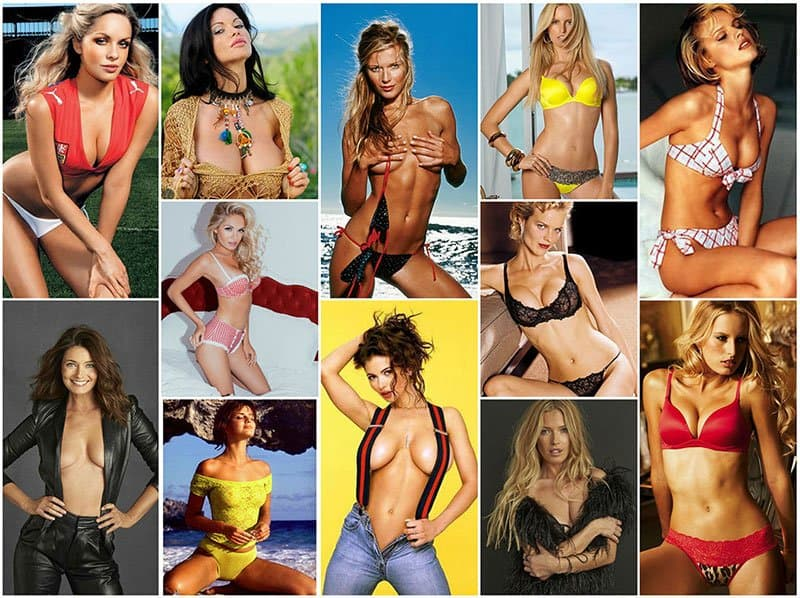 Selection of hottest Czech women on the planet