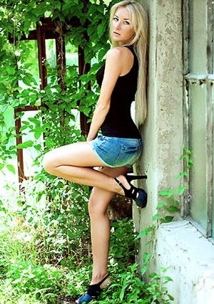 hot Ukrainian girl outdoors