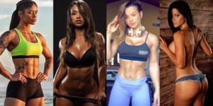Hottest International Fitness Models