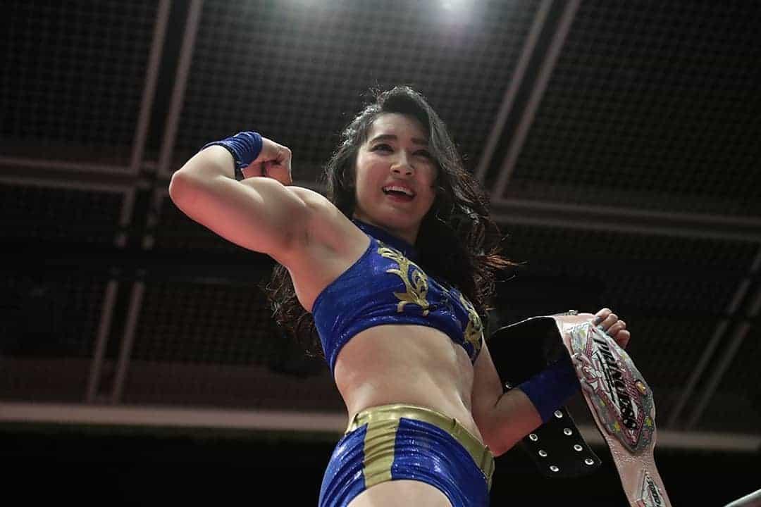 Reika Saiki Japanese muscle idol
