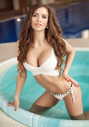 seductive Ukrainian manager