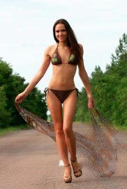 sexy Ukraine bikini girl