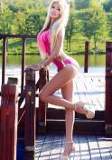 sexy Ukrainian in pink bikini