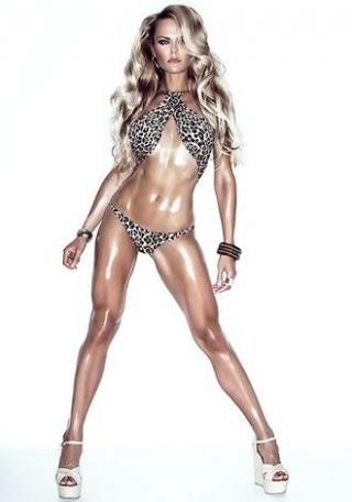 Ukraine fitness model