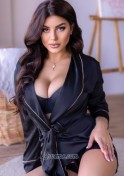 Ukrainian brunette with seductive look