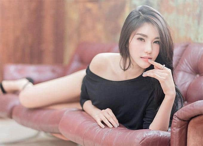 cute, stunning Thai girl