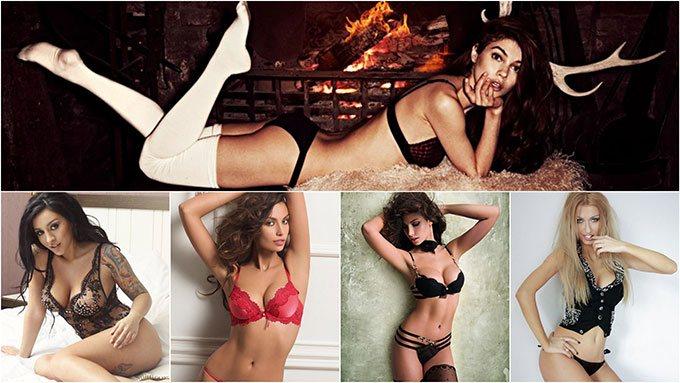 modern sexy Romanian women