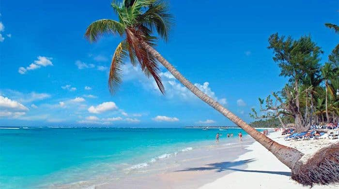 a beautiful beach at Punta Cana