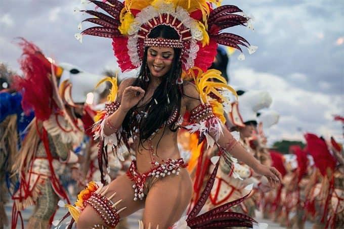 Brazilian carnival event