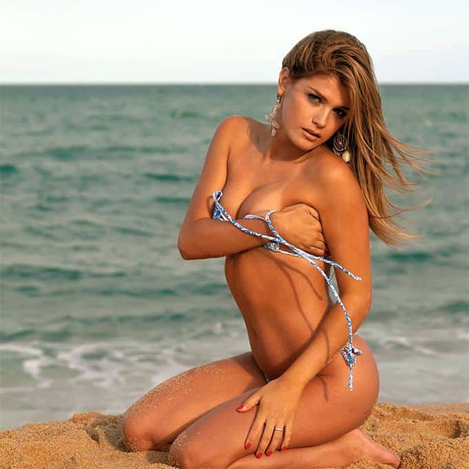 hot Brazilian bikini girl