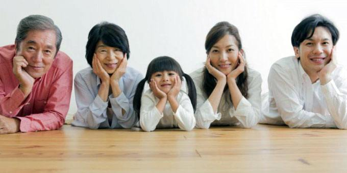 typical Japanese family