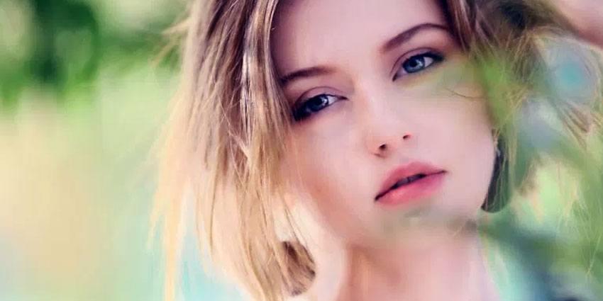 blonde Belarus babe