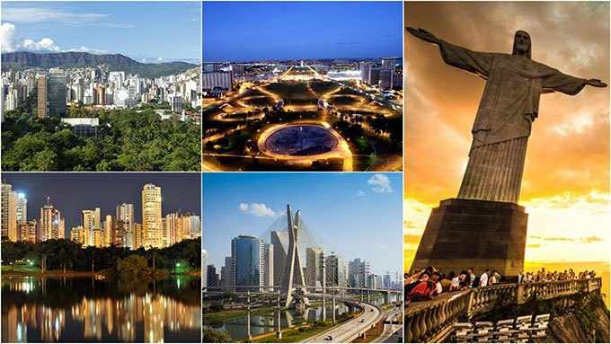 places to visit when in Brazil