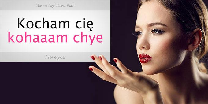 say i love you in polish language