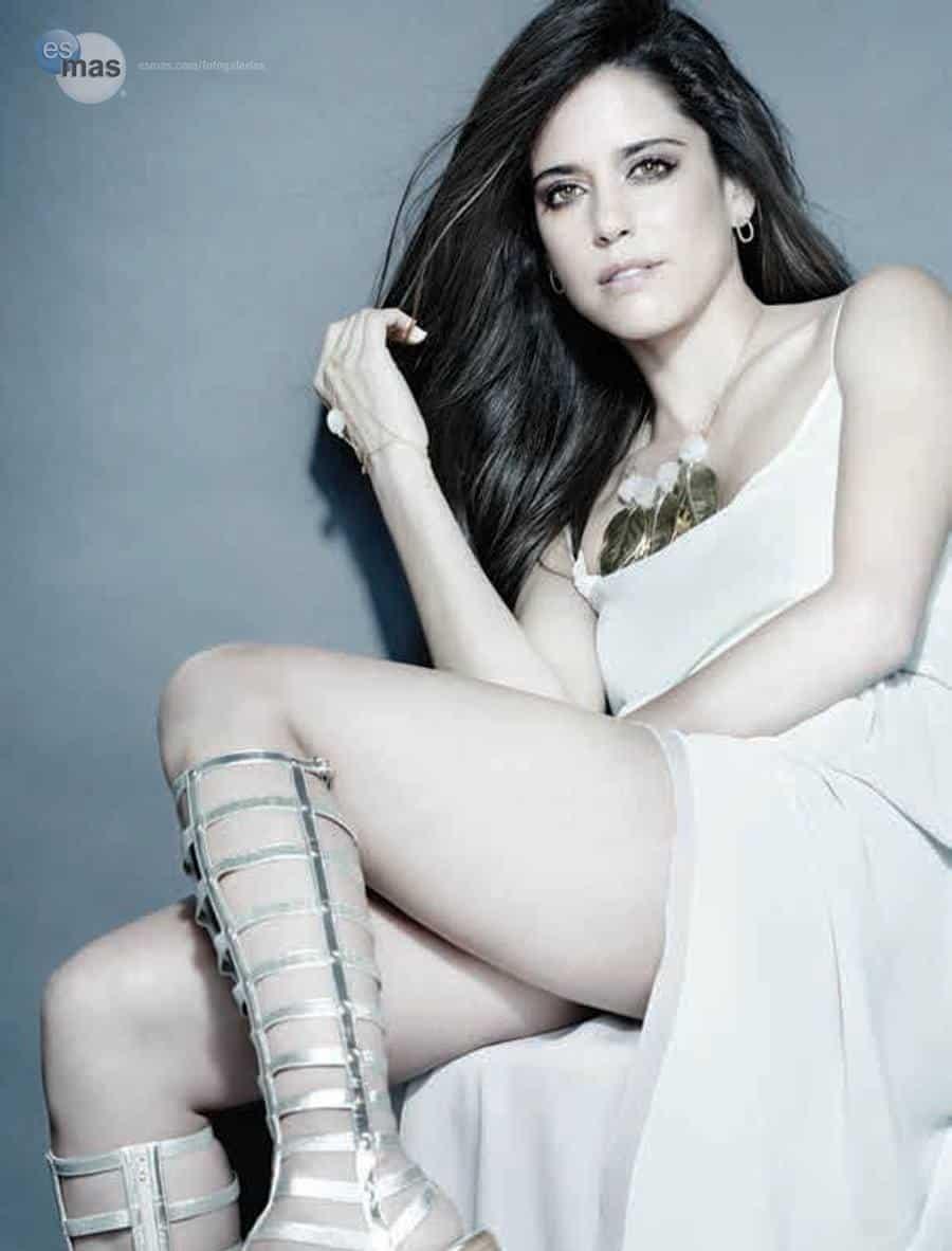 Ana Claudia Talancon beautiful in white