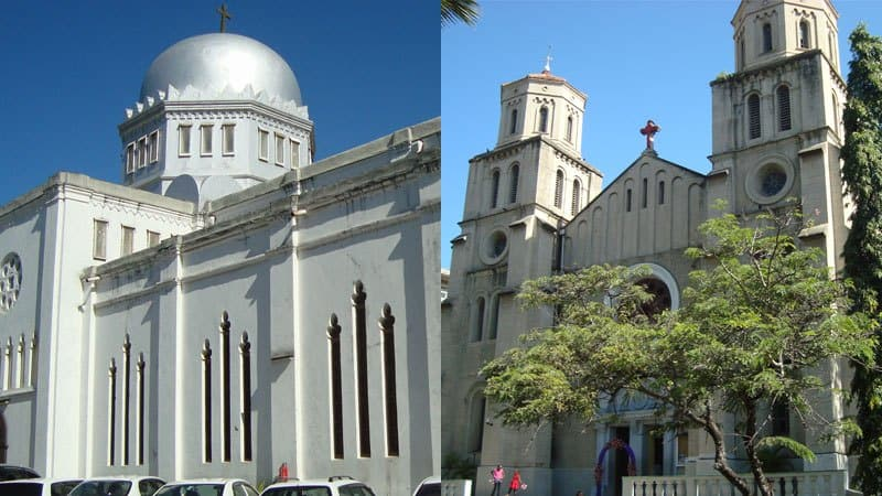 Aanglican and Catholic church in Kenya