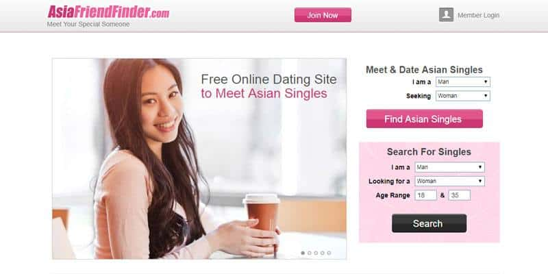 Asia Friend Finder website