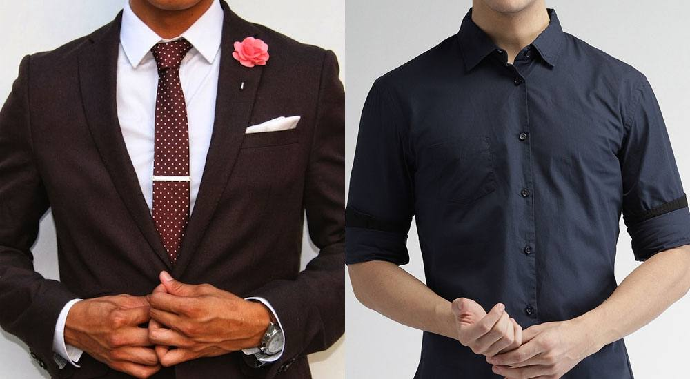 casual and formal clothes to impress a girl